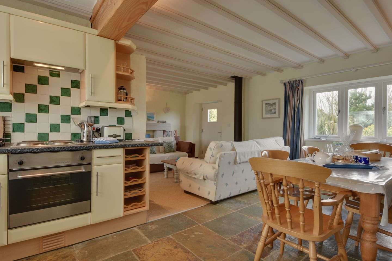 Barn Cottage Trelights Kitchen
