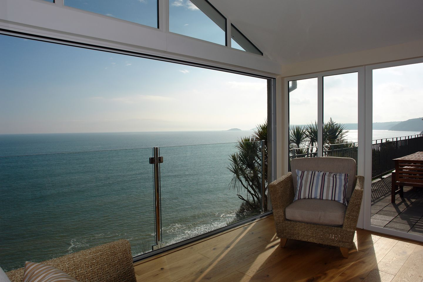 Beach Belle Downderry Chair With Sea View