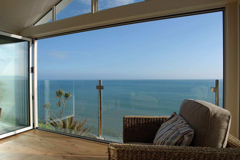 Beach Belle Downderry Living Room Sea View
