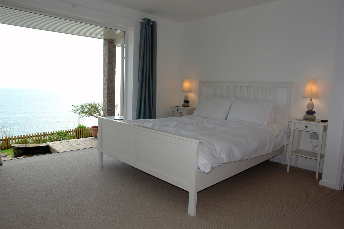 Beach Belle Downderry Master Double Bedroom
