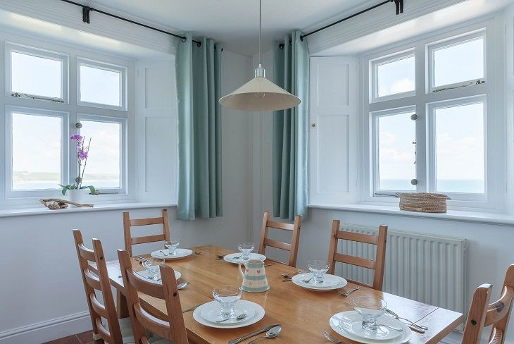 Beacon Cottage Start Point Dining Room