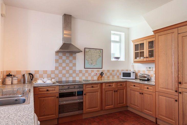 Beacon Cottage Start Point Kitchen