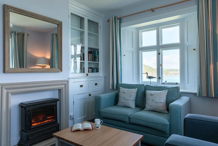 Beacon Cottage Start Point Lounge
