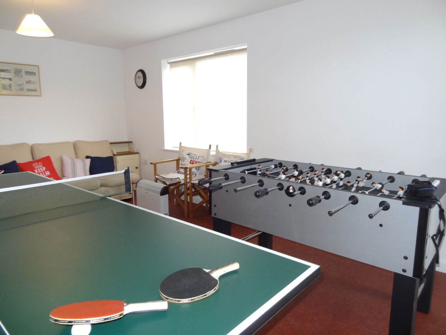 Castle View Port Isaac Holiday Cottage Games Room