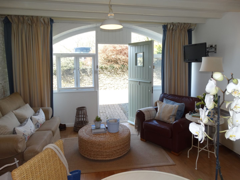 Coast Barn Newton Ferrers Living Room To Doors