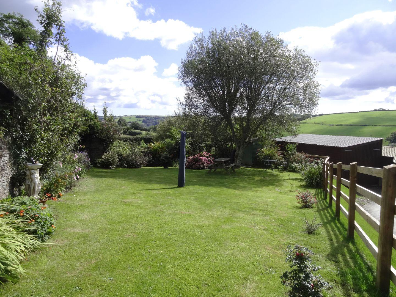 Crosscombe Barn Loddiswell Rear Garden