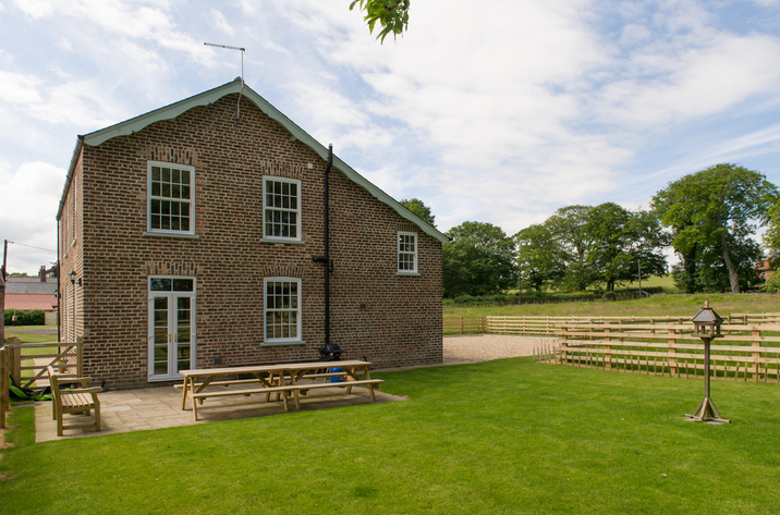 Foremans House Bridlington Garden