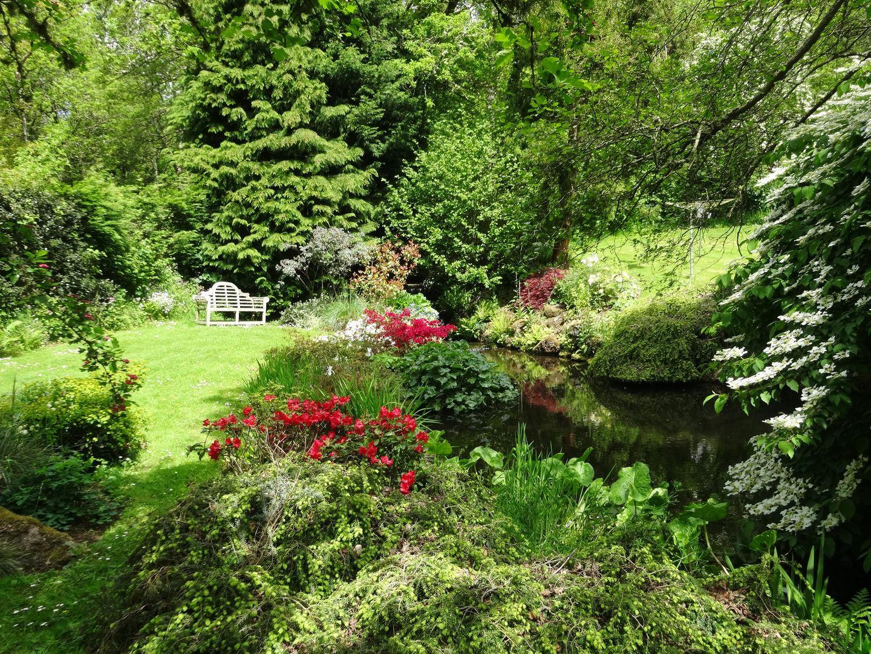 Gibhouse Drewsteignton Garden With Pond