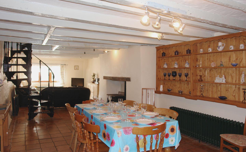 Mermaid Cottage Gorran Haven Dining Room