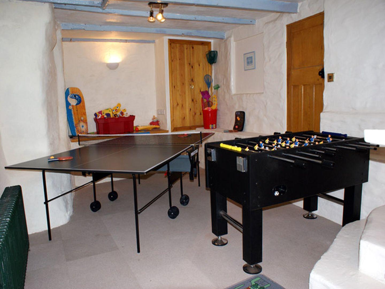 Mermaid Cottage Gorran Haven Games Room