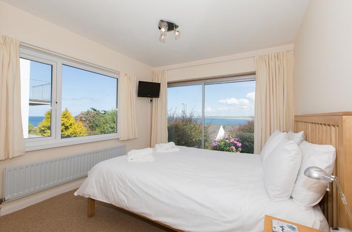 Mordros Carbis Bay Double Bedroom With Sea Views
