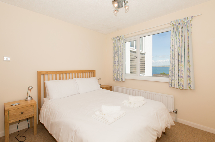Mordros Carbis Bay Double Bedroom With View