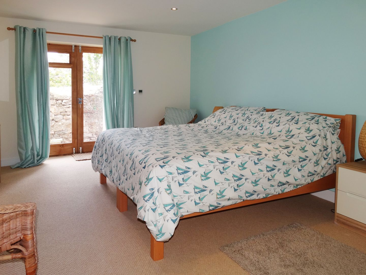 Pippin Charmouth Double Bedroom