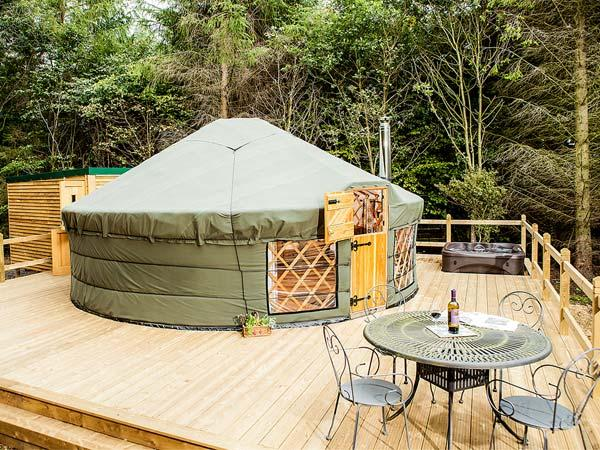 The Rowan Yurt