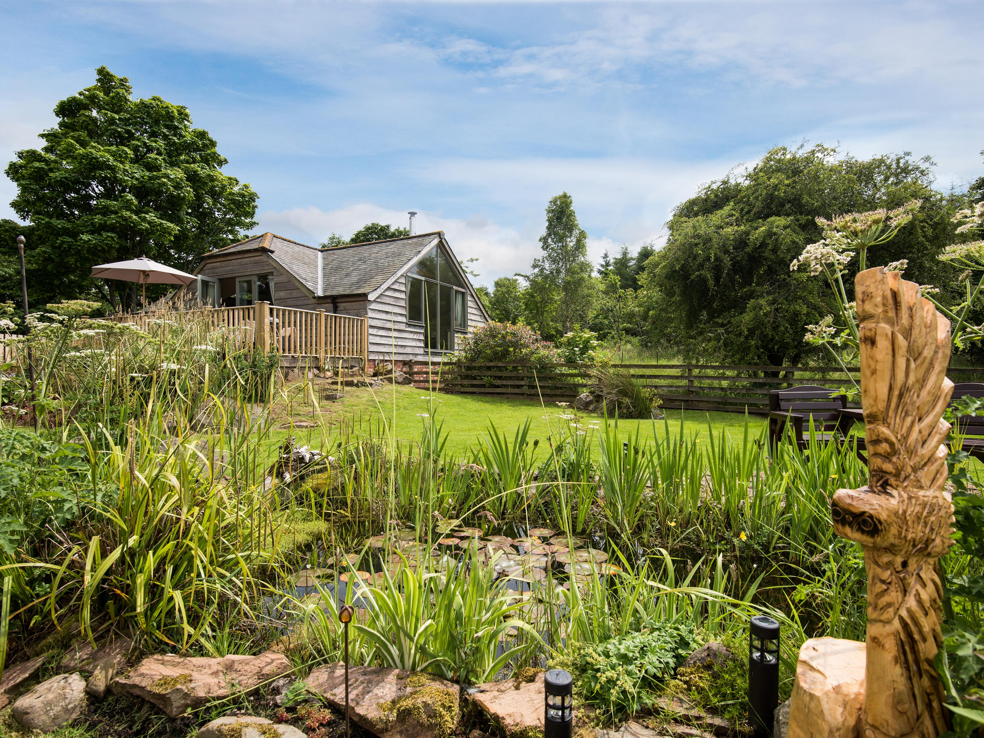 Holiday Cottage Reviews for Kidcleugh Hide - Holiday Cottage in Duns, Scottish Borders