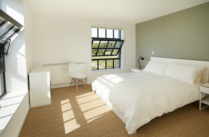 The Pump House Hilgay Double Bedroom
