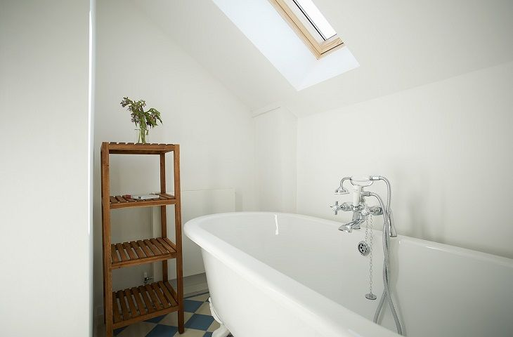 The Pump House Hilgay Luxury Bathroom
