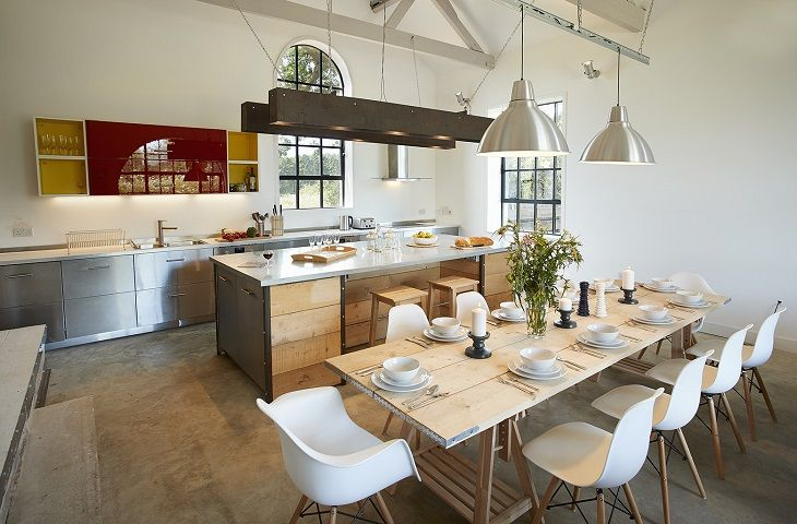 The Pump House Hilgay Luxury Kitchen