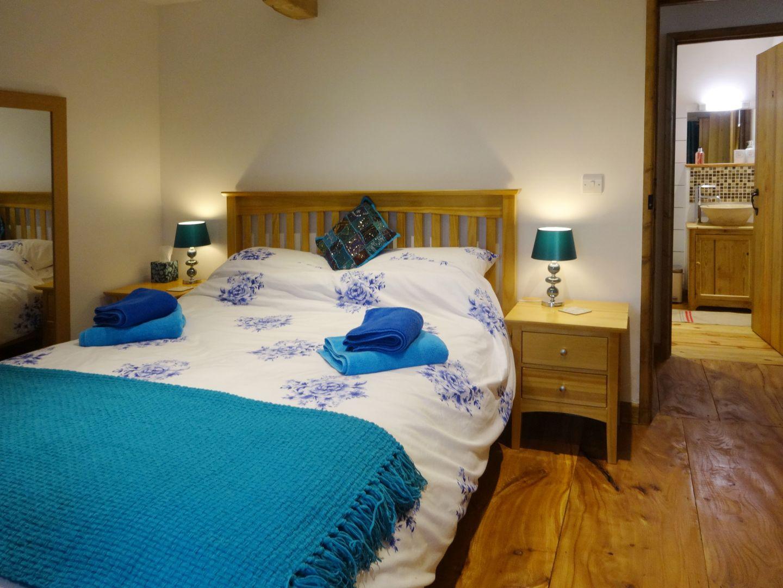 The Woodshed Upton Pyne Double Bedroom