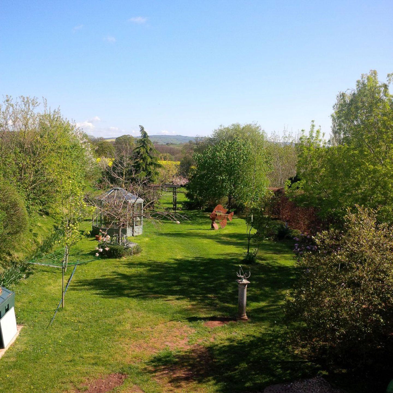 The Woodshed Upton Pyne Garden