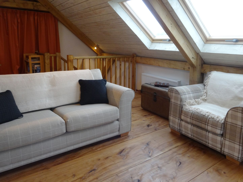 The Woodshed Upton Pyne Living Room