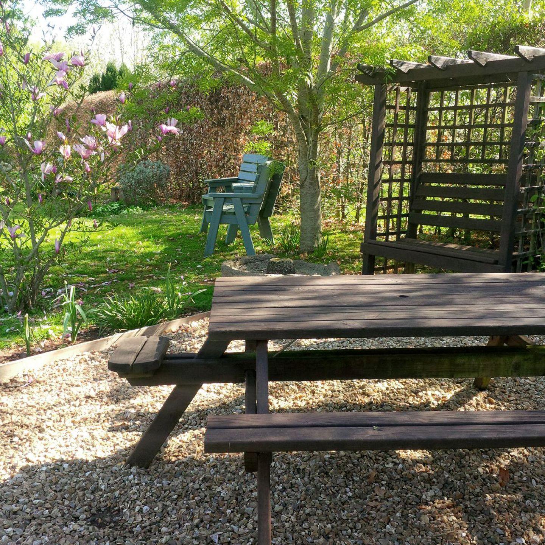 The Woodshed Upton Pyne Picnic Table