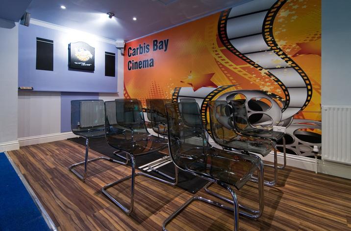 Trencrom Villa Carbisbay Cinemaroom